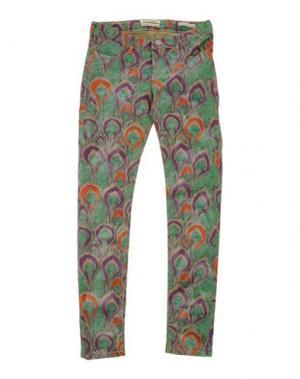 Повседневные брюки SCOTCH R'BELLE. Цвет: зеленый