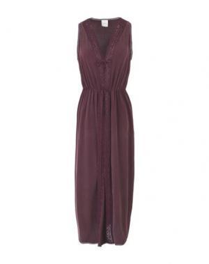 Платье длиной 3/4 ...À_LA_FOIS.... Цвет: баклажанный