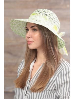 Шляпа Krife. Цвет: белый, зеленый