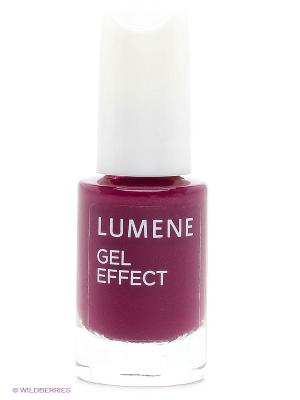 Лак для ногтей с гелевым эффектом Lumene  №9 Ежевичный десерт, 5 мл. Цвет: фуксия