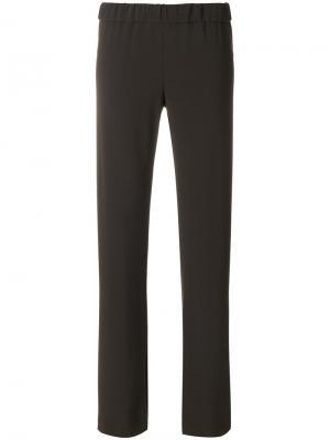 Прямые брюки Aspesi. Цвет: зелёный