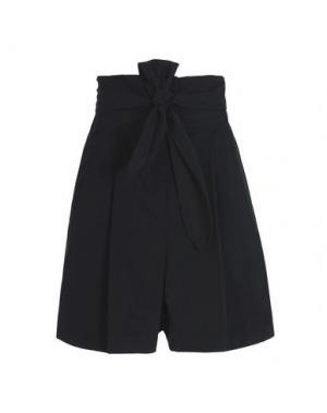Повседневные шорты EDUN. Цвет: черный