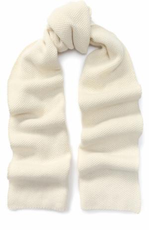 Кашемировый шарф Kashja` Cashmere. Цвет: белый