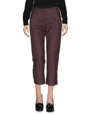 Повседневные брюки ALYSI. Цвет: коралловый