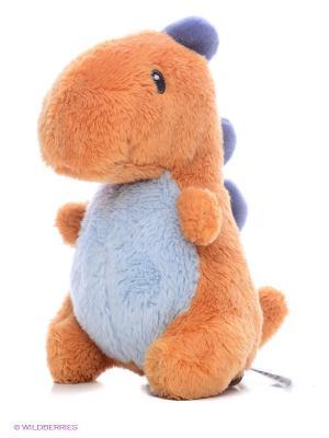 Игрушка мягкая Dino Rattles Gund. Цвет: оранжевый, белый, сиреневый
