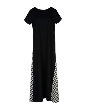 Платье длиной 3/4 TILL.DA. Цвет: черный