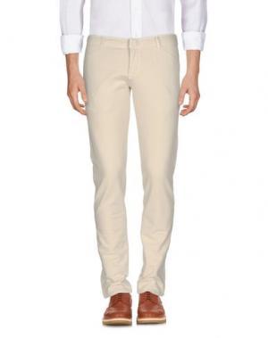 Повседневные брюки CIRCOLO 1901. Цвет: слоновая кость