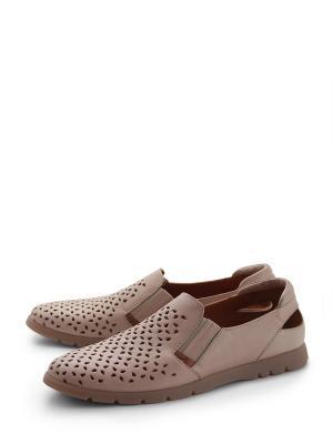 Туфли ANTARES. Цвет: бежевый