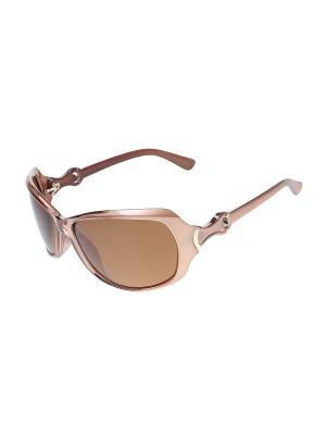 Очки солнцезащитные Migura. Цвет: бежевый, коричневый