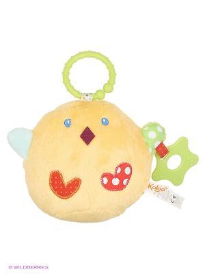 Разивающая игрушка Цыпленок Kaloo. Цвет: желтый