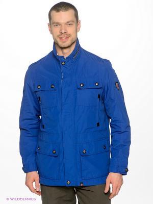 Куртка Gate One. Цвет: синий