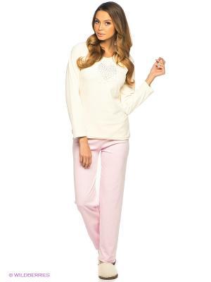 Комплект Vienetta Secret. Цвет: бледно-розовый, молочный
