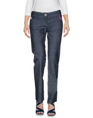 Джинсовые брюки CESARE PACIOTTI 4US. Цвет: синий