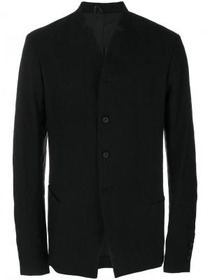 Однобортный пиджак Masnada. Цвет: чёрный