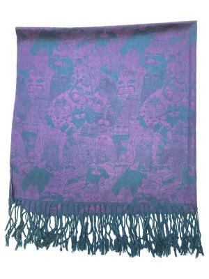 Платок NINA ROSSI. Цвет: фиолетовый