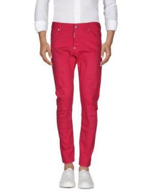 Джинсовые брюки DSQUARED2. Цвет: фуксия