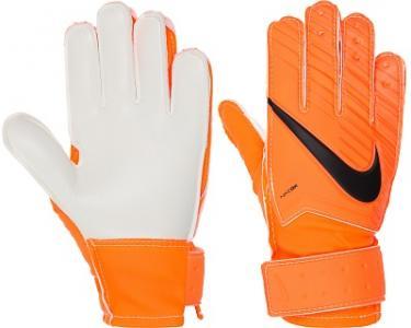 Перчатки вратарские детские  Match Goalkeeper Nike. Цвет: оранжевый