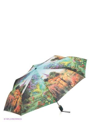 Зонт Zest. Цвет: зеленый, желтый, светло-голубой, сиреневый