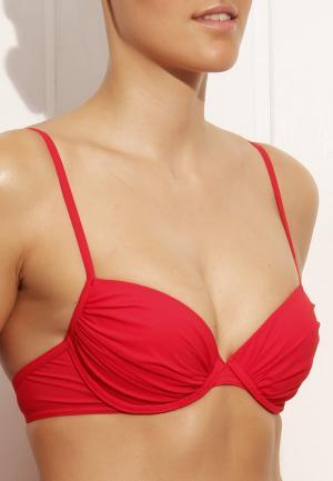- Luxury Essentials Бикини на косточках лиф Красный Cyell