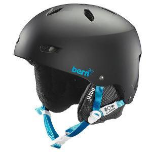 Шлем для сноуборда женский  Snow EPS Brighton Matte Black/Black Liner Bern. Цвет: черный