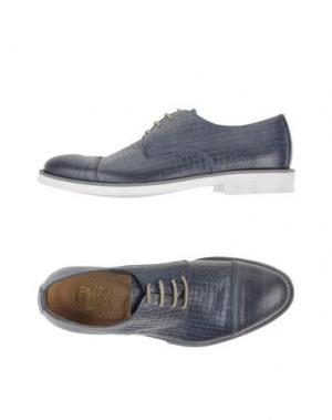 Обувь на шнурках VIA DEI CALZAIUOLI. Цвет: серый