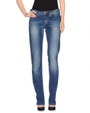 Джинсовые брюки FIORUCCI. Цвет: синий