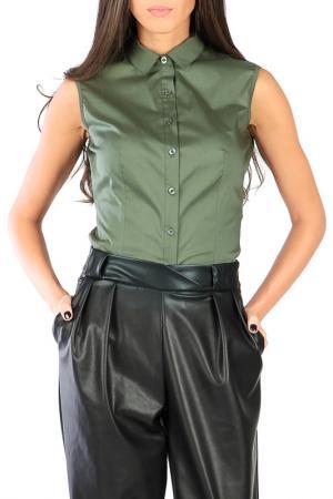 Блуза Joins. Цвет: зеленый