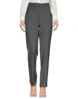 Повседневные брюки GAT RIMON. Цвет: свинцово-серый
