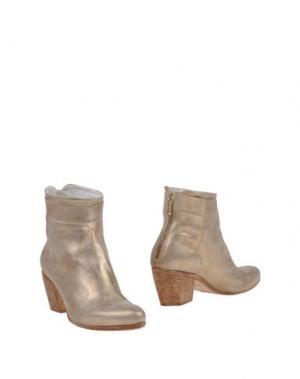 Полусапоги и высокие ботинки CORVARI. Цвет: платиновый
