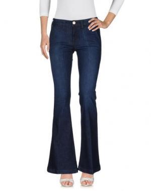 Джинсовые брюки TRUE RELIGION. Цвет: синий