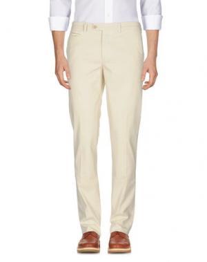 Повседневные брюки PIATTO. Цвет: слоновая кость