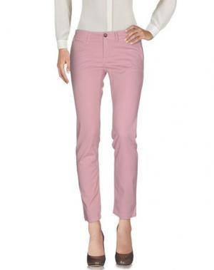 Повседневные брюки BLAUER. Цвет: розовый