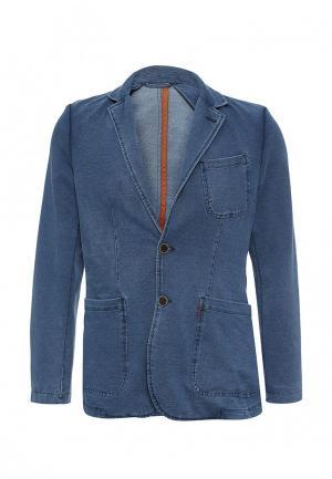 Пиджак Springfield. Цвет: синий