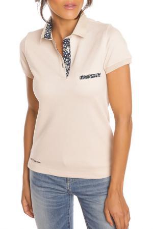 Рубашка-поло GAZOIL. Цвет: бежевый