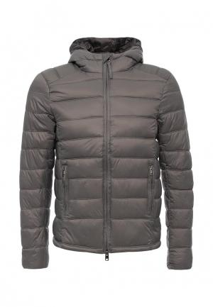 Куртка утепленная Alcott. Цвет: серый