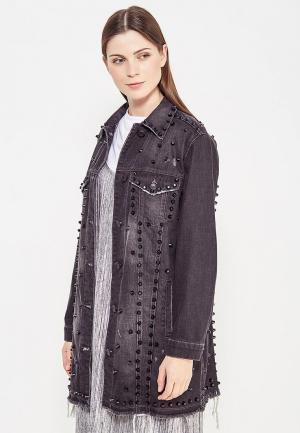 Куртка джинсовая Whitney. Цвет: серый