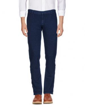 Повседневные брюки CIRCOLO 1901. Цвет: темно-синий