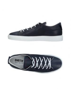 Низкие кеды и кроссовки SMITH'S AMERICAN. Цвет: темно-синий