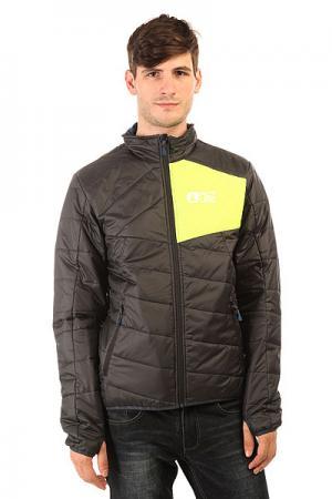Куртка  Atlas Black/Fluo Yellow Picture Organic. Цвет: черный,желтый