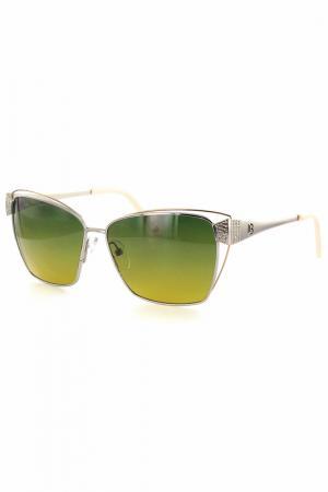 Очки солнцезащитные Laura Biagiotti. Цвет: зеленый