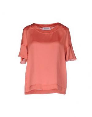 Блузка ANNA RACHELE JEANS COLLECTION. Цвет: ржаво-коричневый