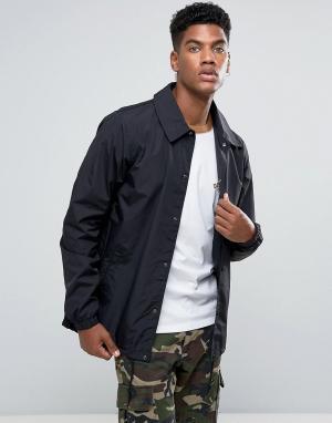 Dickies Черная спортивная куртка. Цвет: черный
