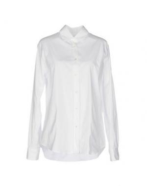 Pубашка AMINA RUBINACCI. Цвет: белый