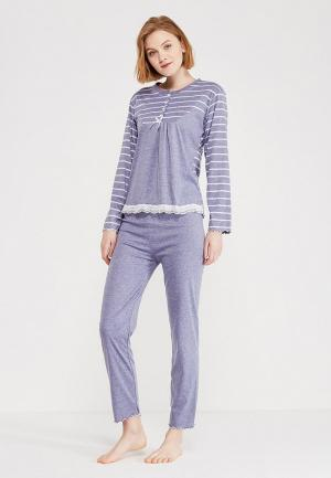 Пижама Cootaiya. Цвет: фиолетовый