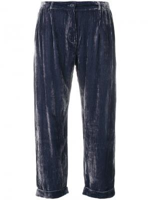 Giuliano trousers Mes Demoiselles. Цвет: синий