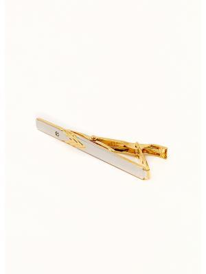 Зажим для галстука ZDG-10 Mitya Veselkov. Цвет: серебристый, золотистый