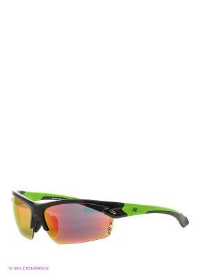 Солнцезащитные очки NRC. Цвет: черный, зеленый