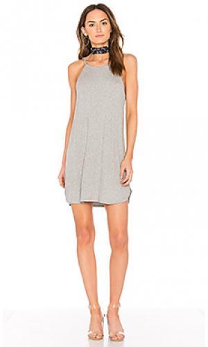 Платье stella De Lacy. Цвет: серый