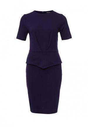 Платье Borodulins Borodulin's. Цвет: фиолетовый