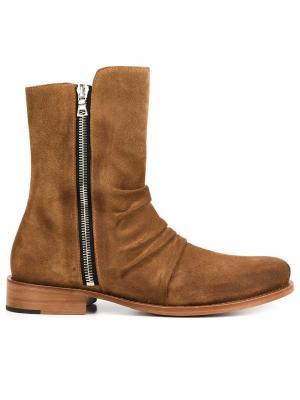 Stack boots Amiri. Цвет: коричневый